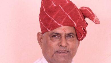 Chomu Ex MLA Bhagwan Sahay Saini