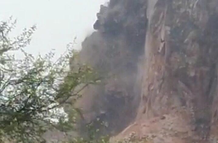 चौमूं :- सामोद की पहाड़ियों पर अवैध खनन का मामला...!